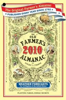 Old Farmer's Almanac 2010